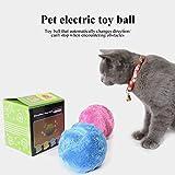 Leegoal divertente Pet elettrico giocattolo palla non tossico Plush Pet Electric Toy Ball Keep your Dog attivo e sano, 13,3cm