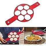 Die Zweite Generation Silikon Pfannkuchen Form, Non Stick Kuchen Maker Ei Ring Echte Produkt Lanbao