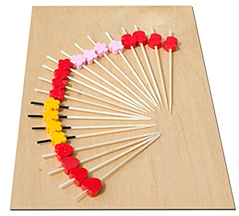 Dimensions des brochettes en bois : 9 cm - Lot de 100 brochettes