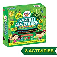 Genius Box Children's Garden Adventure Activity Kit Learning Toy (Green; Medium)