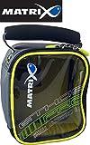 Fox Matrix Pro accessory bag S 16x13x8cm - Kleinteiltasche für Angelzubehör & Futterkörbe, Tackletasche für Feederkörbe & Zubehör