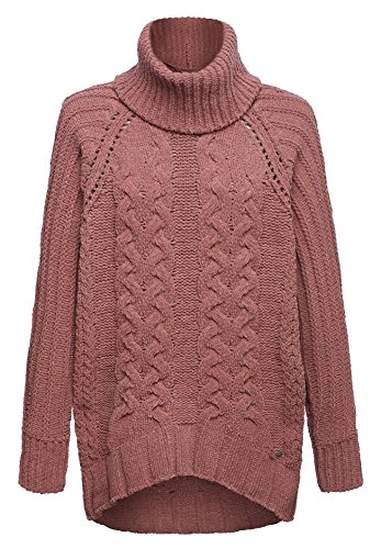 khujo -  Maglione  - Basic - Maniche lunghe - Donna rosa (656D-BLOSS) 42