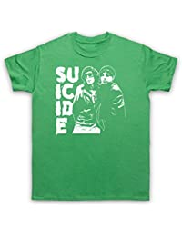 Suicide Musical Duo Band T-Shirt des Hommes