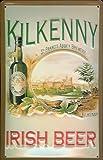 Blechschild Nostalgieschild Kilkenny Irish Beer St. Francis Abbey brewery