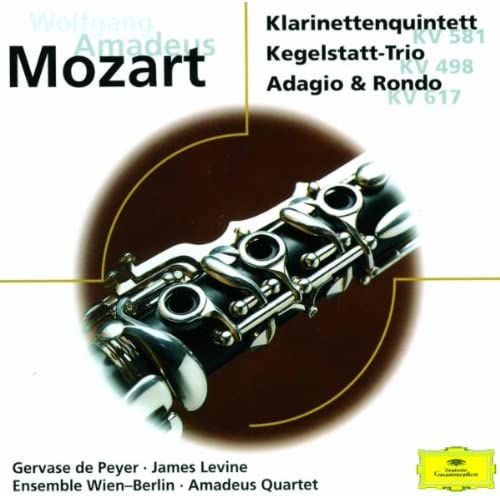 "Mozart: Trio for Clarinet, Viola and Piano in E flat K.498 ""Kegelstatt"" - 1. Andante"