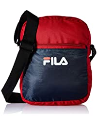 92cb268930 Fila Polyester 30.5 cms Pea Red Messenger Bag (Rafael)