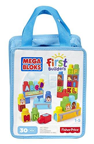 First Builders - Eco mega bolsa A, B, C…¡Letras! (Mattel DCH38)