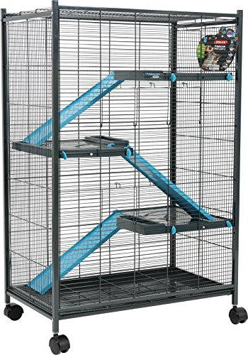 Zolux Chinchilla/Ferret/Rat Cage Blue 72 x 43 x 107 cm