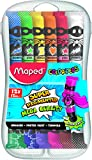 Maped M810520 - Gouache-Farben Color'Peps in Kunststoffbox, mehrere Farben, 12 x 12 ml