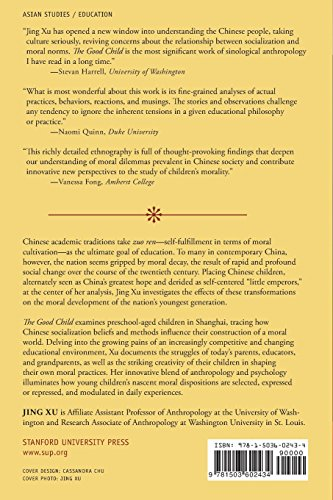 The Good Child: Moral Development in a Chinese Preschool