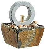 CLIMAQUA Zimmerbrunnen, Oni, rusty, 13x13x18 cm, 0638