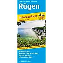 Rügen: Radwanderkarte mit Ausflugszielen, Einkehr- & Freizeittipps, wetterfest, reißfest, abwischbar, GPS-genau. 1:75000 (Radkarte / RK)