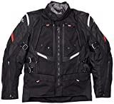 Clover GTS-3 WP AIRBAG Motorcycle Textile Jackets (Black, L)