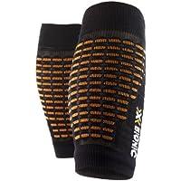 X-Socks - Calcetines unisex, talla L/XL, color negro/naranja