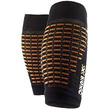 X-Socks - Calcetines unisex, talla S/M, color negro/naranja