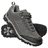 Mountain Warehouse Skyline Mens Trail Hiking Walking Travelling Outdoors Trekking Breathable Shoes Dark Grey 10 UK