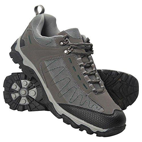 Mountain Warehouse Chaussures de marche homme Anti Ampoules Skyline Gris foncé