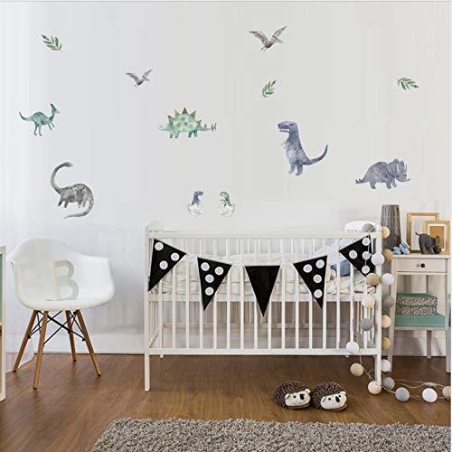 JXSTORE Wandaufkleber für Schlafzimmer Wohnzimmer Mädchen Junge Küche - Cartoon Lustige Giraffe (Zu Halloween-karten Lustige Drucken)