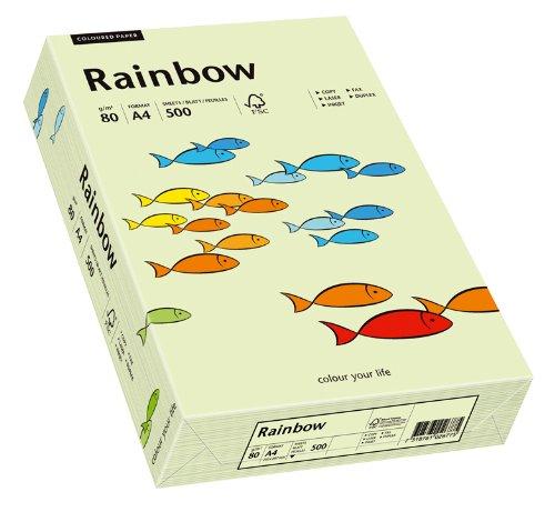 Papyrus 88042585 Drucker-/Kopierpapier farbig: Rainbow 80 g/m², A4 500 Blatt hellgrün