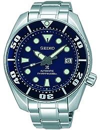 Seiko Herren-Armbanduhr Prospex Analog Automatik Edelstahl SBDC033