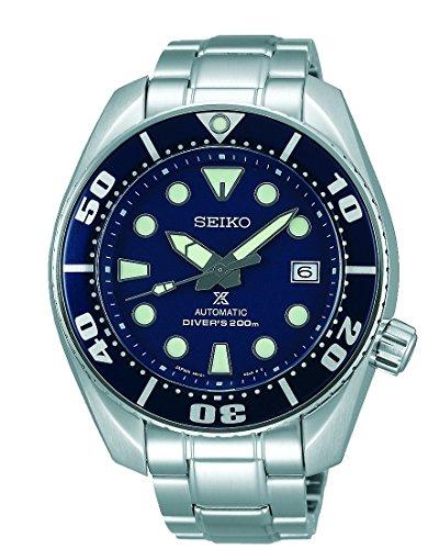 Seiko Reloj Analógico Automático para Hombre con Correa de Acero Inoxidable – SBDC033