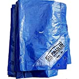 hARP SILPAULIN 200 GSM Cross Laminated All Weather Tarpaulin -Includes Reinforced Edges on All 4 Sides for Extra Strength (9 x 6 ft)
