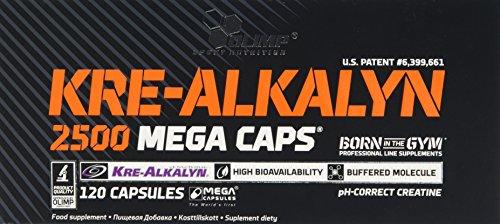 Olimp Kre-Alkalyn 2500 Mega Capsules – Pack of 120 Capsules