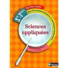 Sciences appliquées - 1re et Term Bac Pro Cuisine