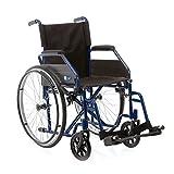 Sedia a rotelle pieghevole - Carrozzina disabili ad autospinta (40 cm)