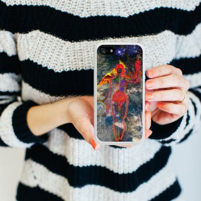 Apple iPhone 6 Housse Étui Silicone Coque Protection Galaxie Galaxie Univers Housse en silicone blanc