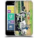 Head Case Designs Acampada Fotos De Aventura Garabateadas Caso de Gel Suave para Nokia Lumia 530 / Dual SIM