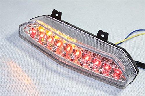 Neue LED Schwanz Bremslicht Blinker für KAWASAKI NINJA ZX6R 20072008Clear -