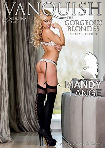 Vanquish Magazine - Gorgeous Blondes - Mandy Lange (English Edition) Playboys Lingerie