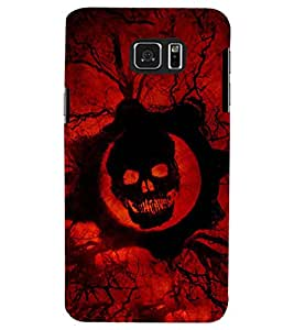 PRINTSWAG SKULL Designer Back Cover Case for SAMSUNG GALAXY NOTE 5 EDGE