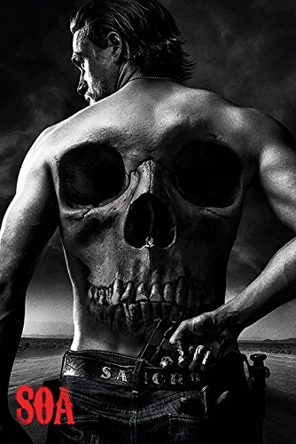 Sons Of Anarchy Poster Pack Jax Back 61 x 91 cm (5) Pyramid International