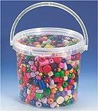 Knorr Prandell 216039901 Knorr prandell 216039901 Holzperlen im Eimer 2,5 Liter , bunt sortiert bunt sortiert