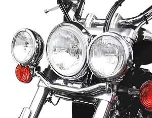 Barre support de phare additionnel Fehling Yamaha XVS 650/ 1100 Drag Star 96-03