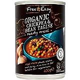 Free & Easy Libre De Tajine De Pollo Orgánico Guisante Y 400g De Frijol (Paquete de 6)
