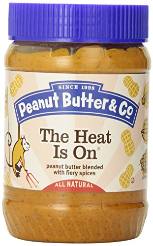The Heat Is On - peanut (Erdnuss) butter blended with fiery spices - 454g
