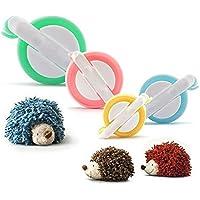 [Neue Version]Pompom Maker,PALADY 4 Größen von Pompom Maker Für Kinder DIY Stricken Handwerk Werkzeug Fluff Ball Weaver Maker