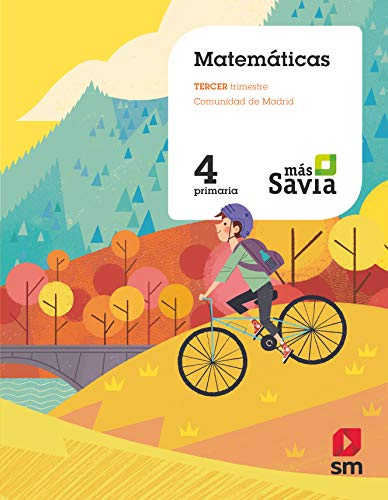 Matemáticas 4 Primaria Más Savia Madrid