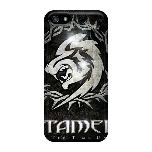 Apple Iphone 5/5s Excellent Hard Phone Covers Custom HD Catamenia Band Skin [Epg45036wVmS]