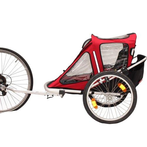 Kinderanhänger Fahrradanhänger Red Loon RB10001 ALU-Light für 2 Kinder - 3