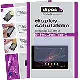 dipos Films de protection d'écran pour Sony Xperia Tablet Z (2 unités) - transparent film de protection d'ecran