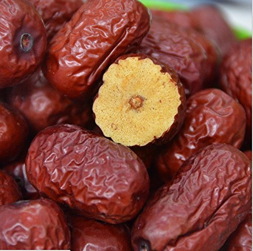 Getrocknete Früchte Jujube hochwertige chinesische rote Datteln Hong Zao 740 Gramm von Shanxi