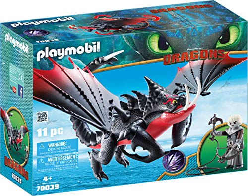 PLAYMOBIL DreamWorks Dragons Aguijón Venenoso Crimmel