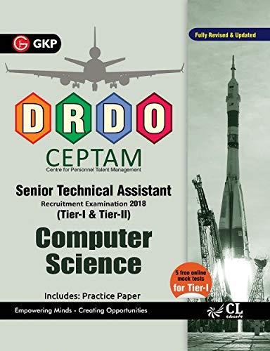 DRDO CEPTAM Senior Technical Assistant Tier I & II - Computer Science