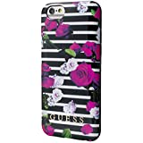 Guess Collection Frühling Printed-TPU für Apple iPhone 6/6S 11 cm (4,7 Zoll) Streifen rosa