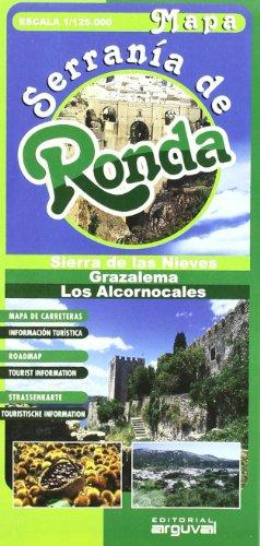 Mapa Serrania de Ronda (MAPAS TURISTICOS)