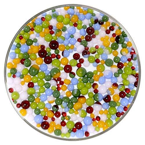 New Hampshire Craftworks Frit Balls aus Bullseye-Glas, mehrjährig, 90COE, groß, 284 g -